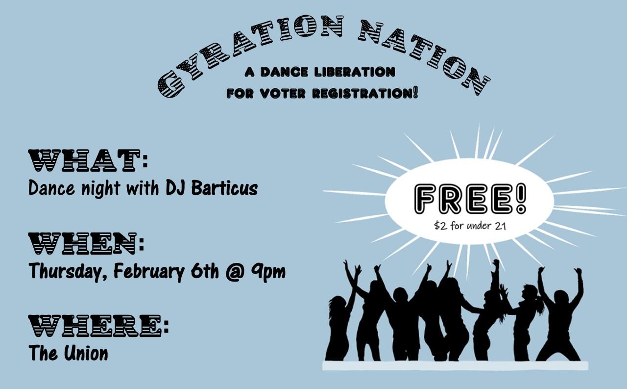 Gyration Nation flier
