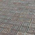 A plaza of Star Bricks