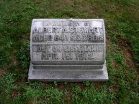 Cenotaph honoring Albert Stewart