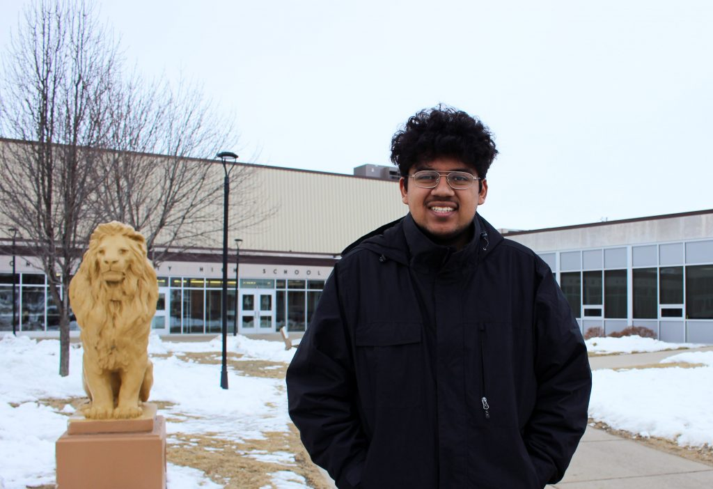 Chris Espino says he can see a future in Denison. But he wants to see more interaction between the diverse communities that make up the small town.