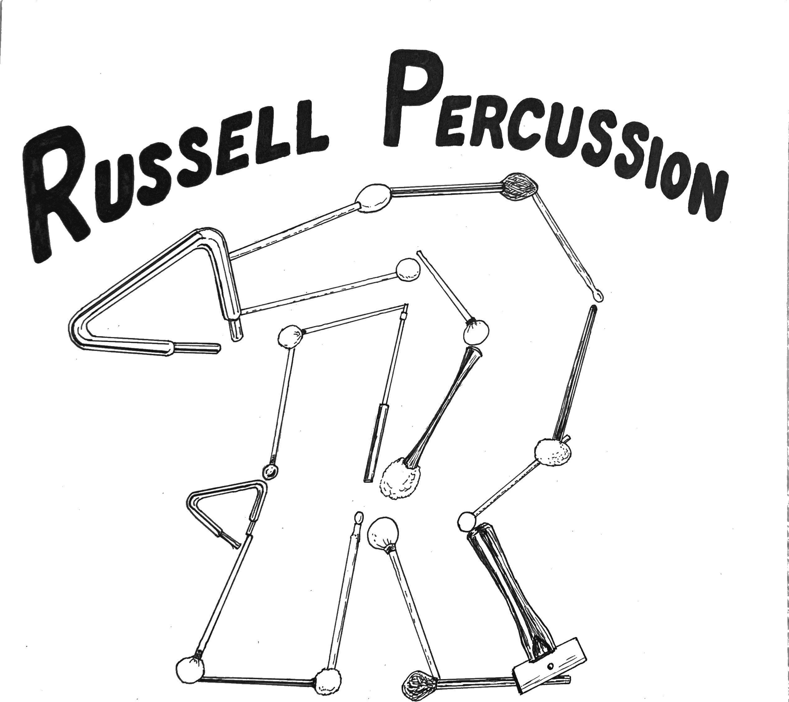 Russell Percussion logo