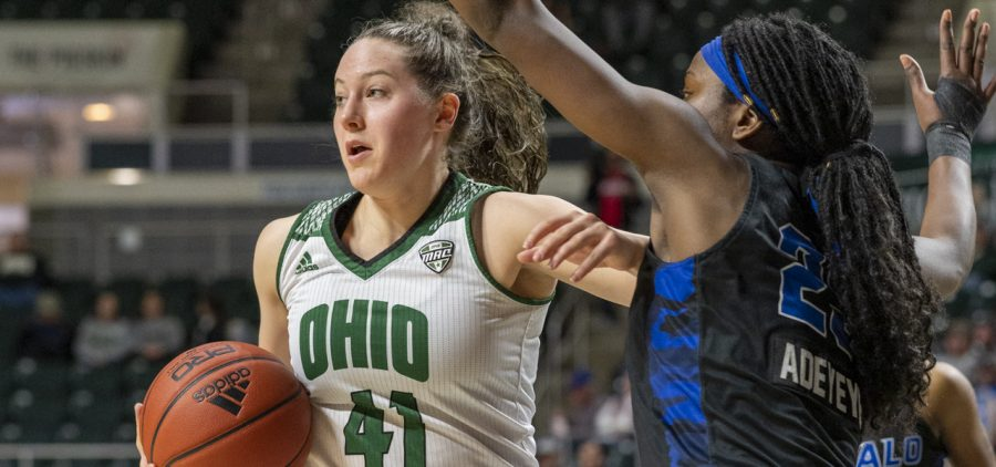 Ohio women's basketball Gabby Burris