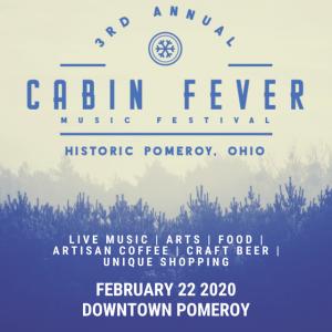 Cabin Fever Music Festival flier