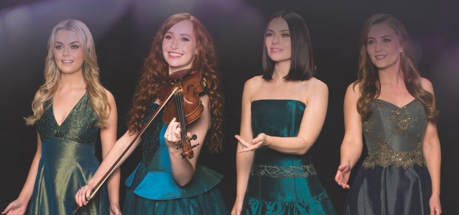 Group shot of the Celtic Women music group
