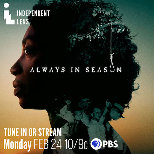 "Movie poster for ""Always in Season"""