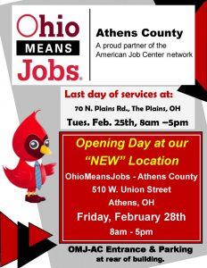 Ohio Means Jobs flier