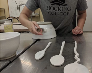 Ceramics made at Hocking College