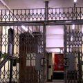 gates blocking hallway area
