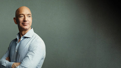 Jeff Bezo,owner and founder of Amazon dot com
