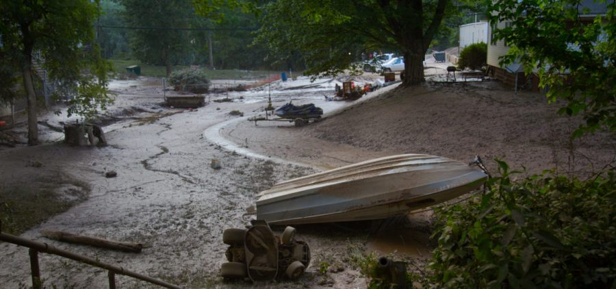 Clendenin, WV faced intense rainfall that led to deadly flooding in June 2016.