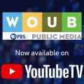 YouTube and WOUB PBS logo