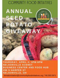 Potato Seed giveaway