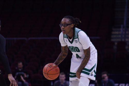 Ohio Basketball Erica Johnson