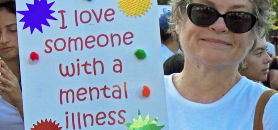NAMWalks (National Alliance for the Mentally Ill) participant in Los Angeles