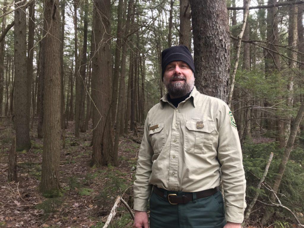 U.S. Forest Service district biologist Shane Jones.