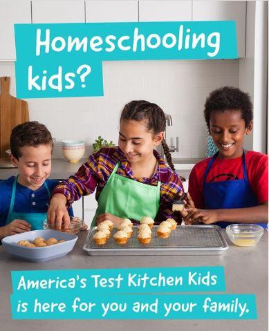 America's test Kitchen kids cooking