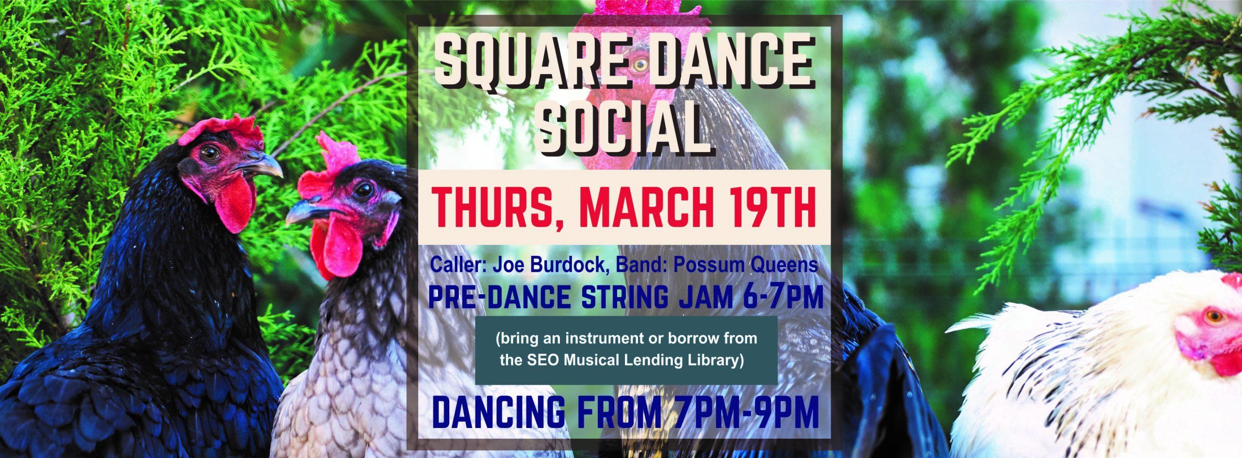 Square Dance Social flier