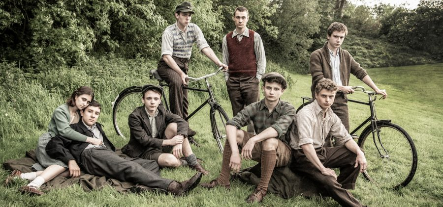 Teens from the 1940s film; The Windermere Children