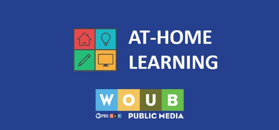 At-Home Learning Graphic