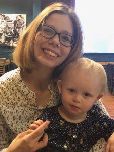 Tiffany Wilburn-Meek and her child Darian.