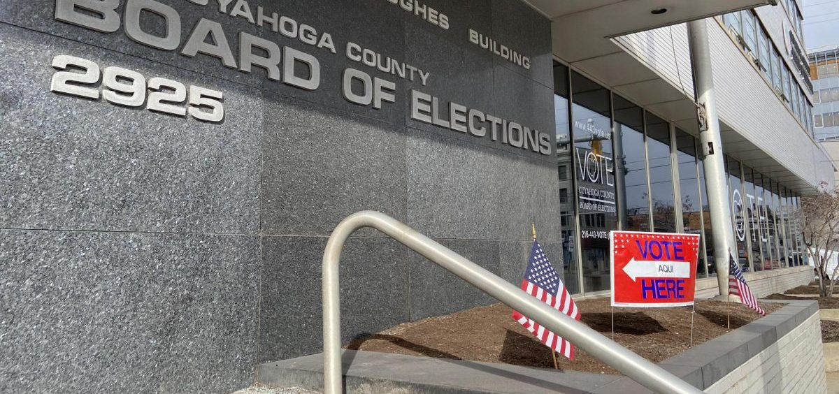 Two polling places in downtown Cleveland near the Cuyahoga County Board of Elections were not moved for the March 17 primary, but 11 in the suburbs were.