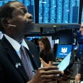 U.S. stock indexes rose sharply on Monday in anticipation of the Federal Reserve's interest rate cut.