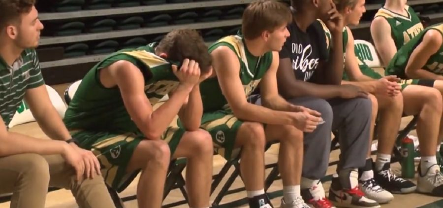 high school playoffs Athens bench