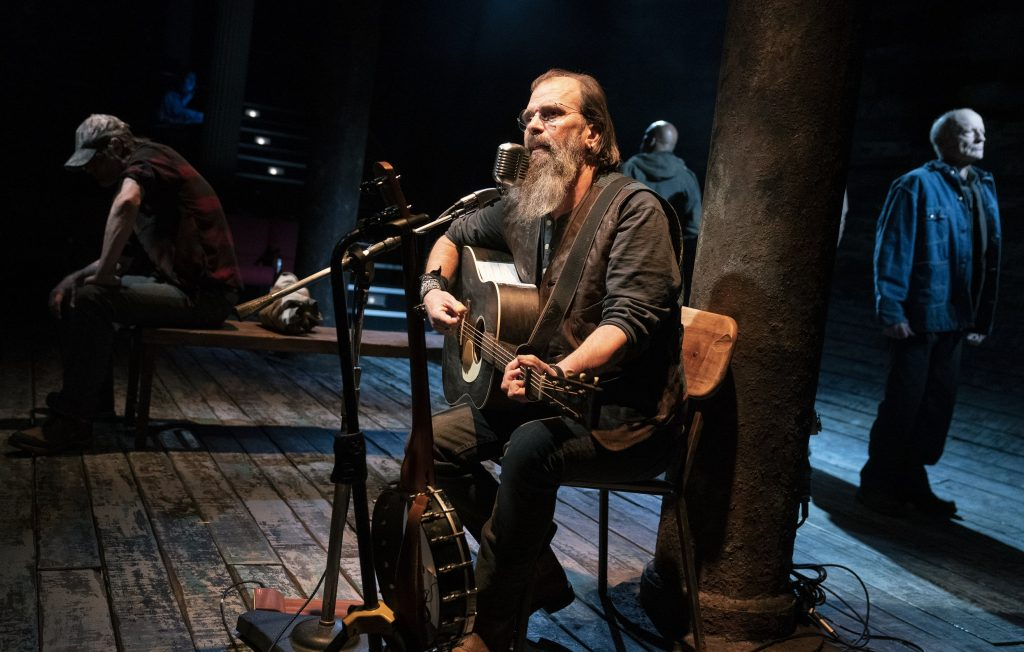 """Steve Earle performs during """"Coal Country."""""""