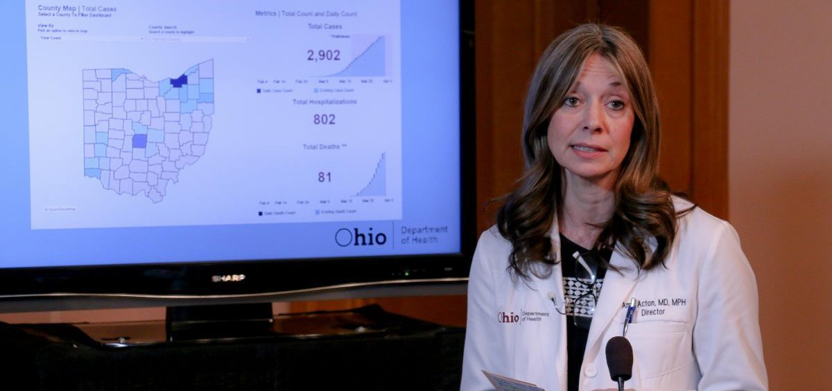 Dr. Amy Acton, Ohio Department of Health director