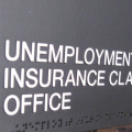 Unemployment Office sign