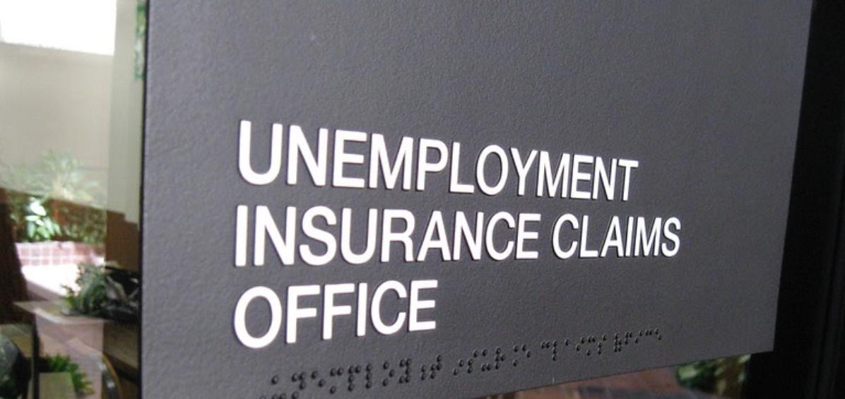Unemployment Office sign