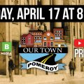 Our Town Pomeroy promotion graphic