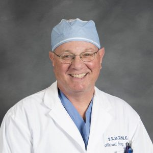 Dr. Michael Sarap, chair of the department of surgery at the Southeast Ohio Regional Medical Center, chair of the American College of Surgeons Advisory Council for Rural Surgery and the chair of the Commission on Cancer Program in Ohio .
