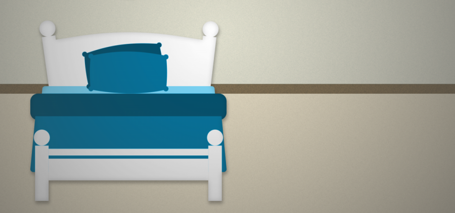 A bed graphic