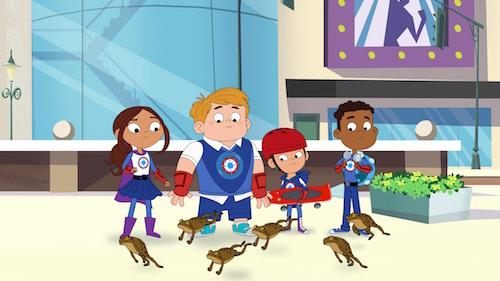 Hero Elementary kids