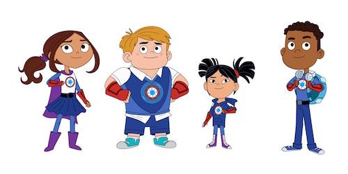 Hero Elementary crew