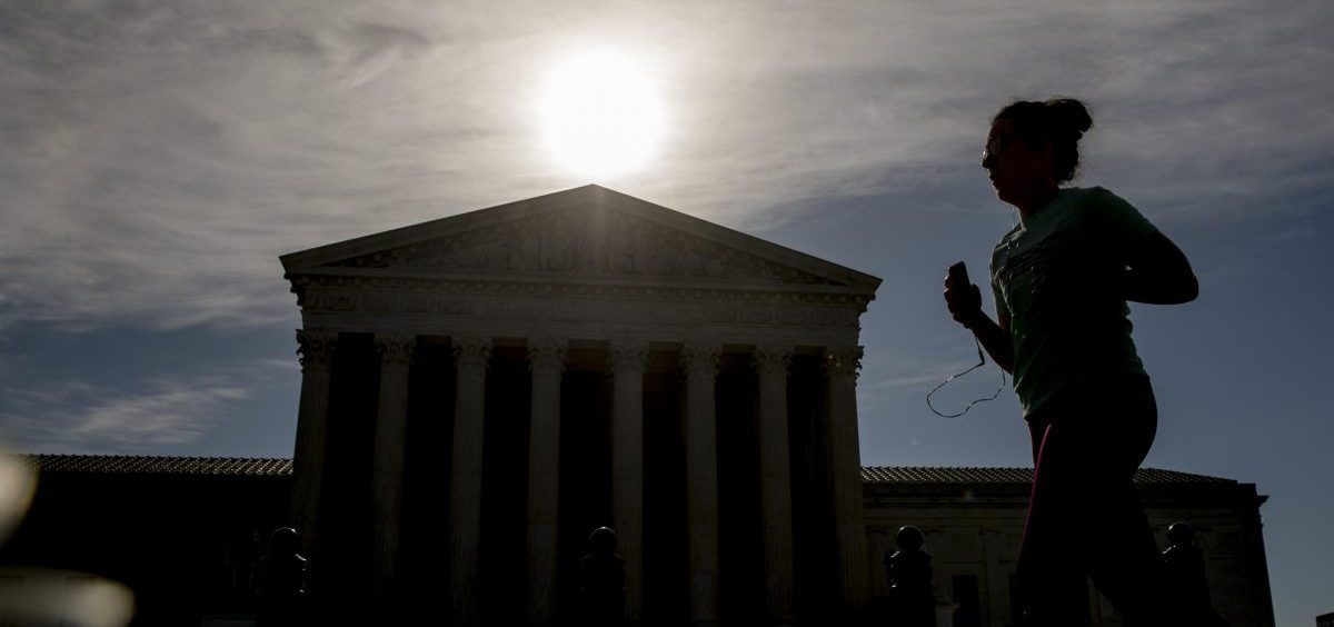 """The Trump administration asked the Supreme Court to block Congress from seeking the materials, saying, """"The government will suffer irreparable harm absent a stay."""""""