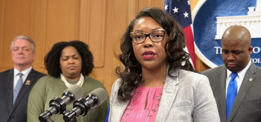 House Minority Caucus Leader Emilia Sykes (D-Akron)