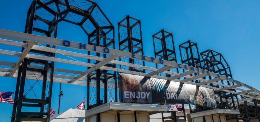 The Ohio State Fair gates