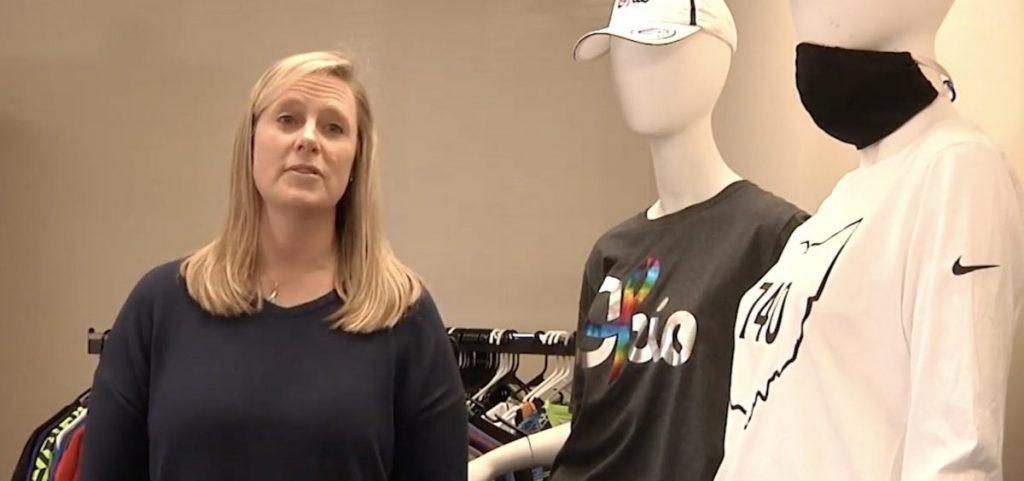 Vicki Warnecke in her store