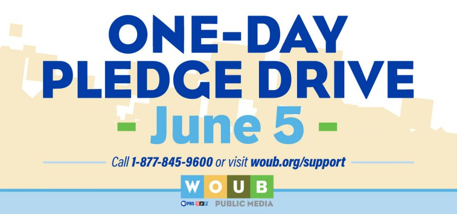 WOUB One-Day Radio Drive Graphic