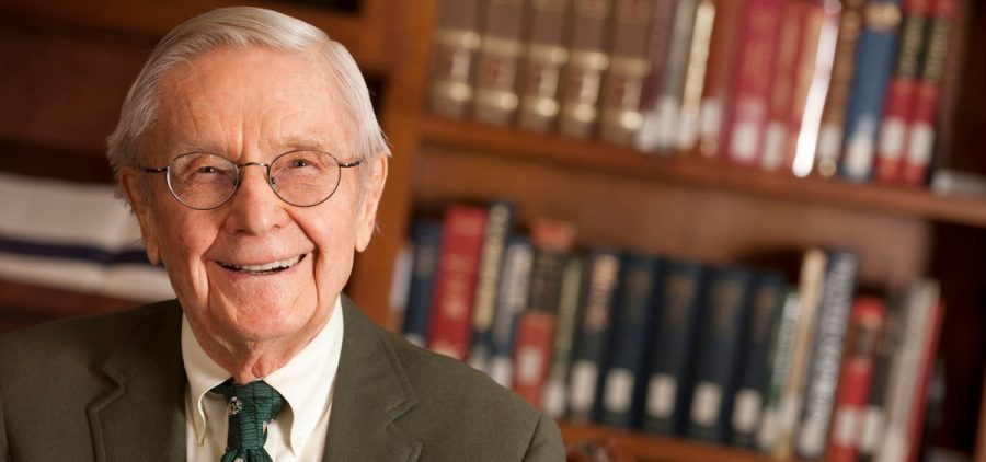 Former Ohio University president Vernon R. Alden, who died June 22, 2020 at the age of 97.