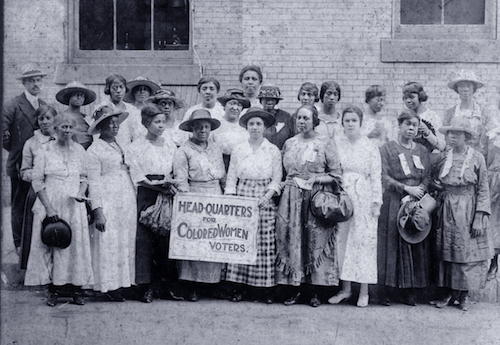 Headquarters for Colored Women Voters. Chicago, IL, 1916.
