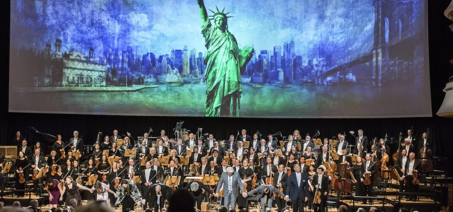 """Pacific Symphony performs """"Ellis Island: The Dream of America"""" by composer Peter Boyer."""