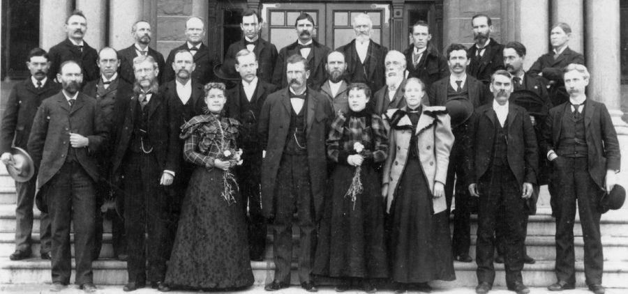 chival photograph of the Utah Senate Legislature 1897.