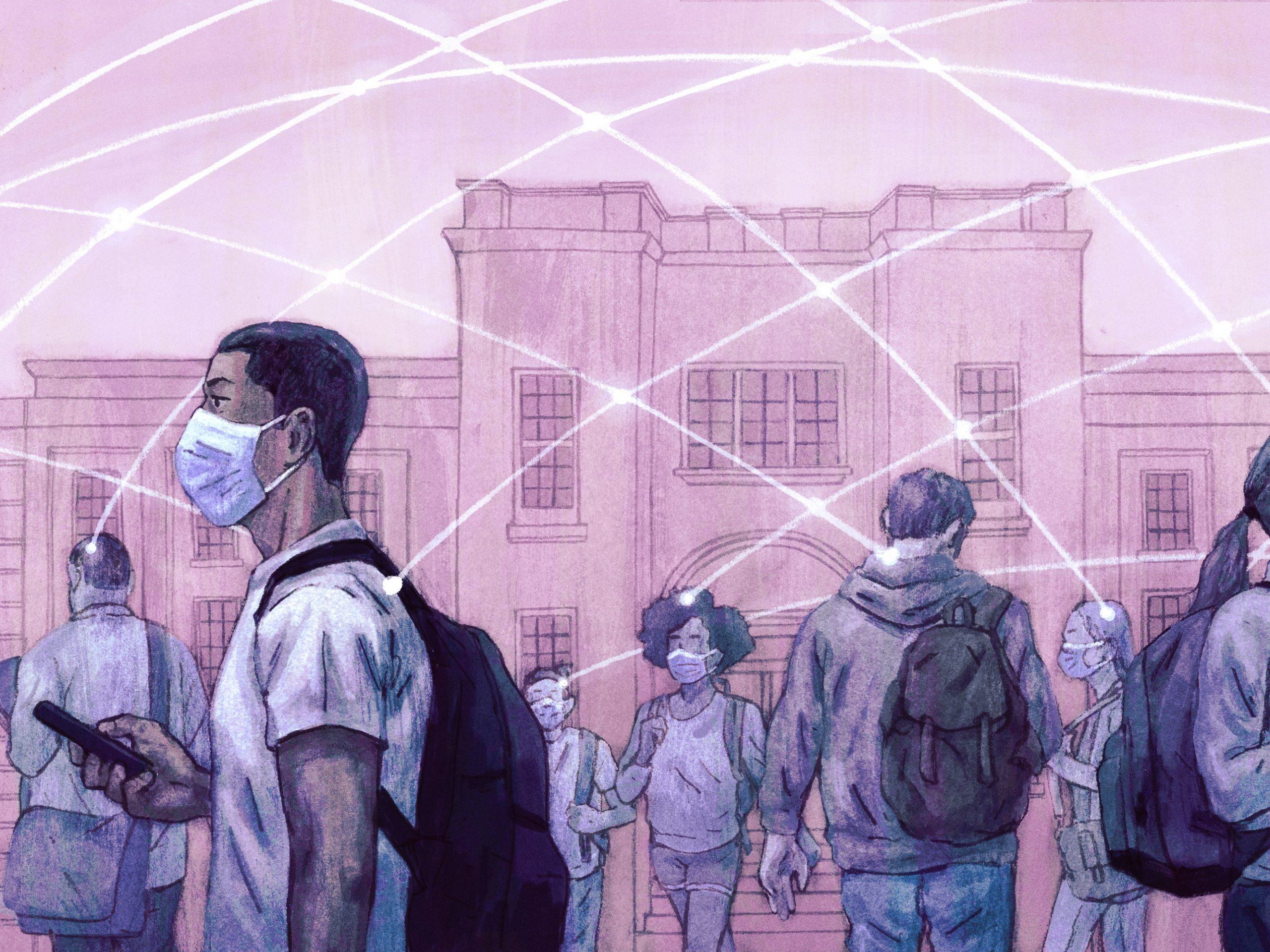 As college students return to campus, what social contracts will have to be in place to keep the virus from spreading?