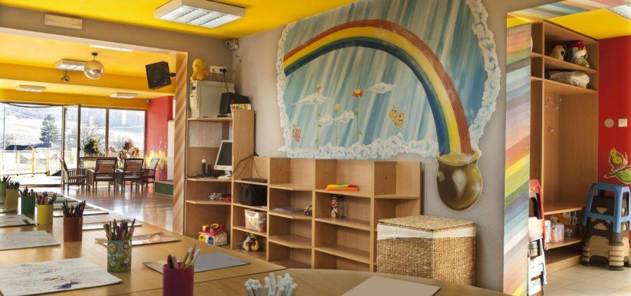 An empty childcare center