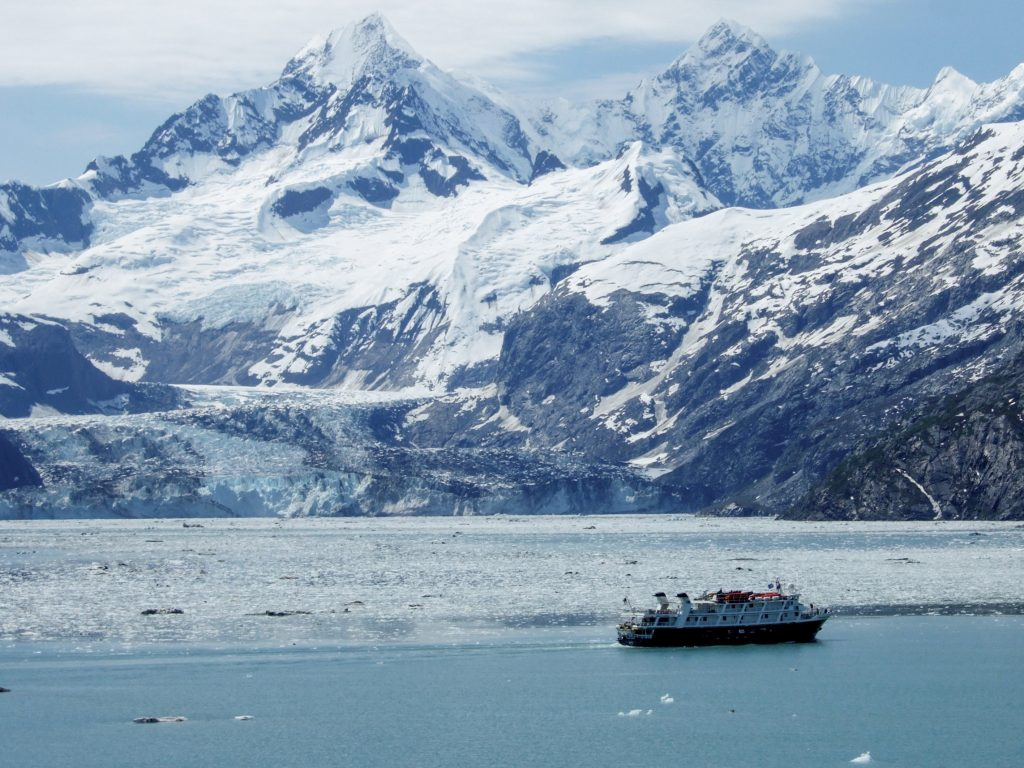 As fewer visitors on ships tour Glacier Bay National Park, scientists are studying what effect this is having on whales' communication, potentially informing new policies to protect them.
