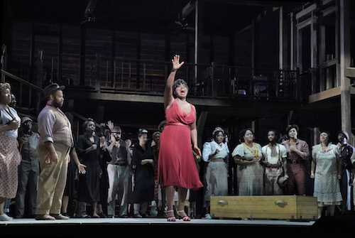 """Angel Blue as Bess in the Gershwins' """"Porgy and Bess."""""""