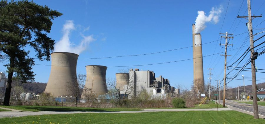 FirstEnergy's Bruce Mansfield coal-fired power plant, located in Beaver County, Pennsylvania, shut down in November 2019.